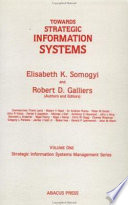 Towards Strategic Information Systems Book