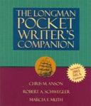 The Longman Pocket Writer s Companion  MLA Update