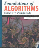 Foundations of Algorithms Using C   Pseudocode