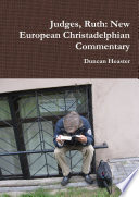Judges  Ruth  New European Christadelphian Commentary