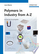 Polymers in Industry from A to Z Book