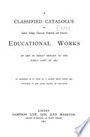 Classified Catalogue of the Library of the Royal Geographical Society  to December  1870
