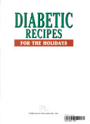 Diabetic Recipes for the Holidays