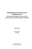 """The Problem of Translating """"Jabberwocky"""""""