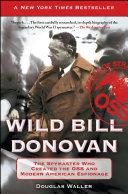 Wild Bill Donovan Pdf/ePub eBook