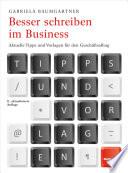 Besser schreiben im Business