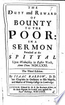 A Sermon Upon the Passion of Our Blessed Saviour  Preached at Guild Hall Chapel  on Good Friday  the 13th Day of April  1677
