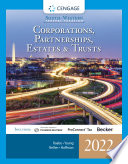 South Western Federal Taxation 2022  Corporations  Partnerships  Estates and Trusts