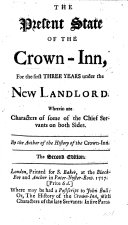 Pdf The Present State of the Crown-Inn