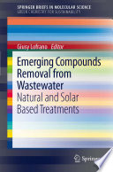 Book Cover: Emerging Compounds Removal from Wastewater