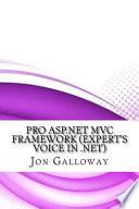 Pro Asp.net Mvc Framework Expert's Voice in .net