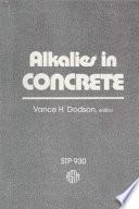 Alkalies in Concrete