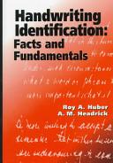 Handwriting Identification Book