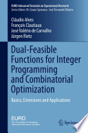 Dual Feasible Functions for Integer Programming and Combinatorial Optimization