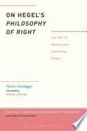 Hegel s Philosophy of Right