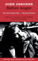 Before Anger - Two Early Plays: The Devil Inside Him & Personal Enemy