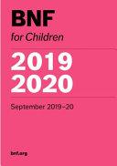 BNF for Children (BNFC) 2019-2020