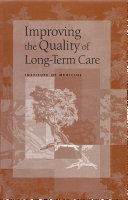Improving the Quality of Long-Term Care Pdf/ePub eBook