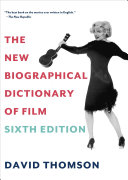 The New Biographical Dictionary of Film ebook