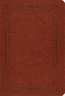 Esv Value Large Print Compact Bible Trutone Tan Window Design  Book PDF