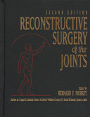 Reconstructive Surgery Of The Joints Book PDF