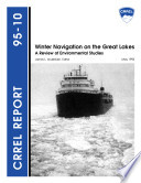 Winter Navigation on the Great Lakes Book
