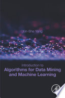 Introduction to Algorithms for Data Mining and Machine Learning