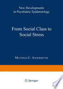From Social Class to Social Stress Book