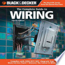 Black Decker The Complete Guide To Wiring