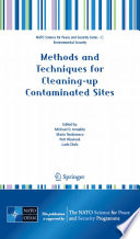 Book Cover: Methods and Techniques for Cleaning-Up Contaminated Sites