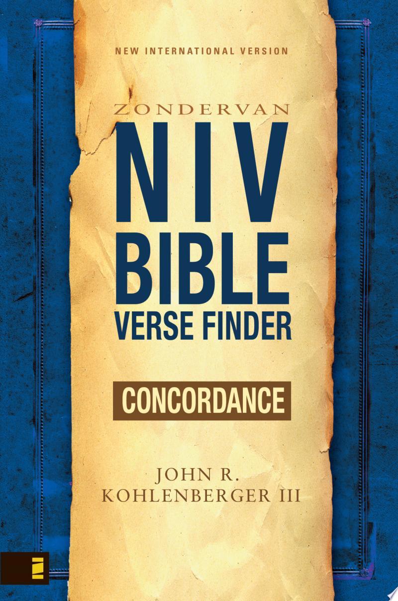 NIV Bible Verse Finder banner backdrop