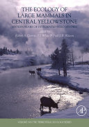 The Ecology Of Large Mammals In Central Yellowstone Book PDF