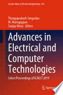 Advances in Electrical and Computer Technologies Book