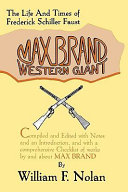 Max Brand, Western Giant