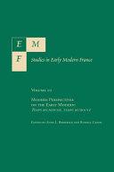 Modern Perspectives on the Early Modern: Temps Recherché , ...