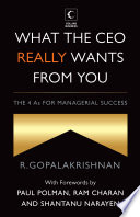 What The Ceo Really Wants From You The 4as For Managerial Success