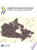 L'égalité des sexes au Canada Intégration, gouvernance et budgétisation
