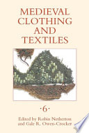 Medieval Clothing and Textiles Book PDF