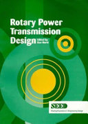 Rotary Power Transmission Design Book PDF