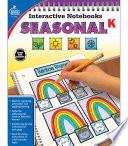 Interactive Notebooks Seasonal  Grade K