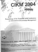 CIKM 2004