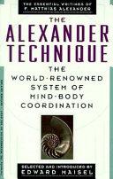 The Alexander Technique