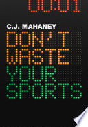 Don t Waste Your Sports Book