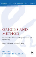 Origins and Method