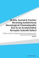30 Day Journal   Tracker Book