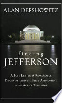 Finding, Framing, and Hanging Jefferson