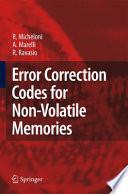Error Correction Codes for Non Volatile Memories