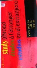 Estudios en El Extranjero