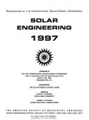 Solar Engineering  1997
