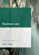 Business Law 2012-2013